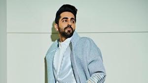 Ayushmann Khurrana shows you how to nail the broken suit.(IshaBhansali/Instagram)