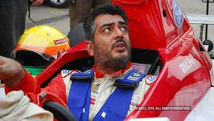 Ajith was an avid racer till he was hit by injury.