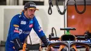 File image of Fernando Alonso(AFP)