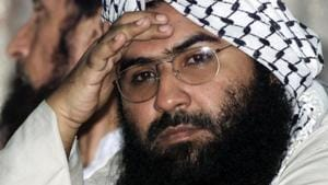 """United Nations Wednesday designated Pakistan-based Jaish-e-Mohammed chief Azhar as a """"global terrorist"""" after China lifted its hold on a proposal to blacklist him(Reuters File Photo)"""