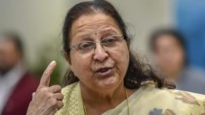 Lok Sabha Speaker Sumitra Mahajan Friday held a meeting of senior officials to review the preparedness for commencement of 17th Lok Sabha and said the lower house has now become part of her life.(PTI)