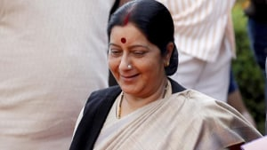 Sushma Swaraj said the Indian government has been successful in bringing back 2.75 lakh persons stranded in other countries.(HT Photo)