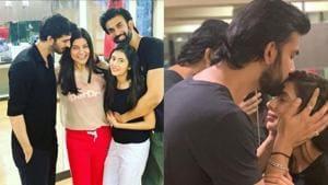 Sushmita Sen can't wait for brother Rajeev Sen's wedding.(Instagram)