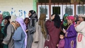 Ladakh and two districts of Anantnag parliamentary seat will vote on May 6, finishing up polling in the ongoing general elections in the state.(File Photo)