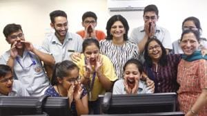 CBSE 10th Result 2019 declared HIGHLIGHTS(Yogendra Kumar/Hindustan Times)