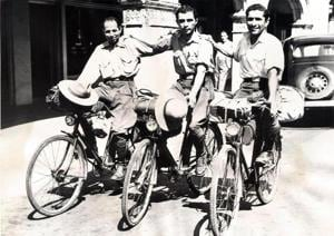 7 Parsis cycled around the world a century ago. Check out photos from their travels