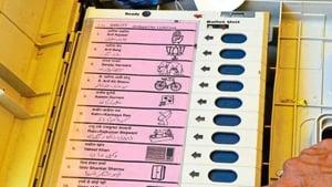 The parliamentary constituencies that will go to polling on Monday are Sriganganagar, Bikaner, Churu, Jhunjhunu, Sikar, Jaipur Rural, Jaipur, Alwar, Bharatpur, Karaulidholpur, Dausa and Nagaur.(HT Photo)