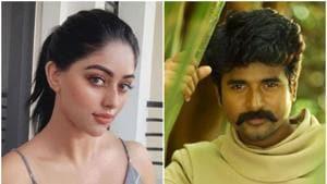Anu Emmanuel teams up with Sivakarthikeyan in Pandiraj's next film. See poster