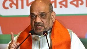 India's defence policy is no longer linked to its diplomatic policy, said Bharatiya Janata Party (BJP) president Amit Shah.(Samir Jana /HT Photo)