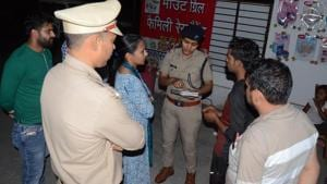 The woman was in a live-in relationship with a man, who also hails from Muzzafarnagar, a senior police official said.(HT PHOTO)