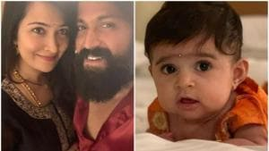 KGF star Yash shares first picture of daughter. See it here