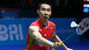 DUBAI, UNITED ARAB EMIRATES - DECEMBER 15: Lee Chong Wei of Malaysia in action during his mens singles match against NG Ka Long Angus of Hong Kong on Day Two of the BWF Dubai World Superseries Finals on December 15, 2016 in Dubai, United Arab Emirates. (Photo by Charlie Crowhurst/Getty Images)(Getty Images)