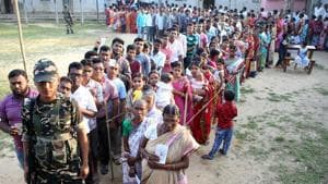 The Election Commission of India has ordered re-election in 168 polling stations in 26 assembly constituencies of Tripura West parliamentary constituency.(REUTERS)