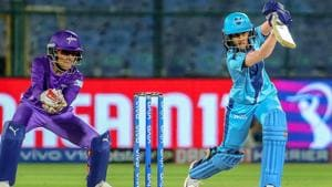 Supernovas 'Jemimah Rodrigues bats during the match against Velocity.(PTI)