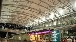"""""""Some airports are expanding quickly, but it's still a big issue for most, especially during peak hours,"""" says Zillmer.(HT Photo)"""