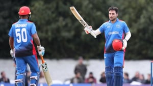 Afghanistan defeated Scotland by two runs in a rain-hit ODI in Edinburgh on Friday.(Twitter)