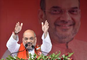 Buoyed by exit polls projections, Shah to host dinner for BJP allies today