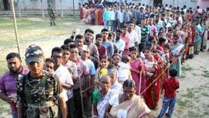 After the polls, both the opposition parties CPM and Congress alleged massive booth rigging reportedly by ruling BJP workers and demanded fresh polls in the West Tripura seat.(REUTERS PHOTO)