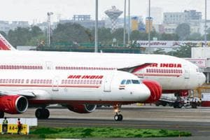 Air India is offering massive discounts on last-minute flight ticket purchases(HT Photo)