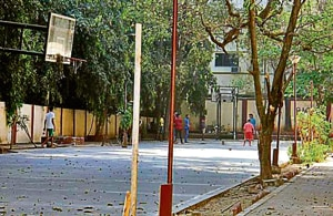 Apart from this, Amarsons Garden and Priyadarshani Park in the island city have also not been reclaimed.(HT Photo)