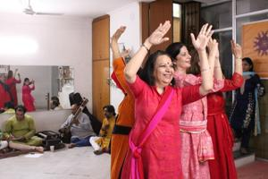 Gurugram's #JiGang on a Kathak note