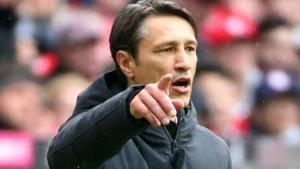 Bayern Munich coach Niko Kovac during the match.(REUTERS)