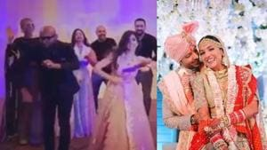 Neeti Mohan shares video from her wedding as Tahira Kashyap, Shakti Mohan, Vishal Dadlani, Benny Dayal perform. Watch