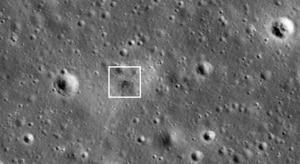 NASA spots Israeli spacecraft's crash site on Moon