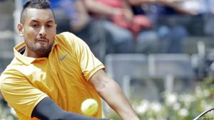 Nick Kyrgios thrown out of Italian Open after on-court outburst