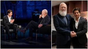 Shah Rukh Khan chats with David Letterman for his Netflix show, calls him the Abominable Snowman. See pics