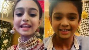Kasautii Zindagii Kay actors Erica Fernandes, Parth Samthaan turn kids in adorable video shot via baby filter. Watch