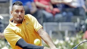 Italian Open: Nick Kyrgios disqualified after swearing, throwing chair