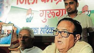 Congress demands probe into polling spike in last 1 hour