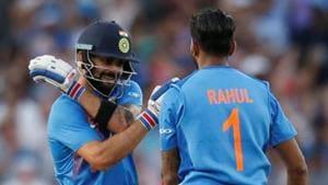 File image of Virat Kohli and KL Rahul.(Action Images via Reuters)