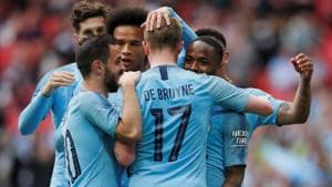 Manchester City thrash Watford 6-0 in FA Cup final to complete domestic treble