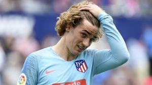 Griezmann whistled as Atletico Madrid come back to draw with Levante
