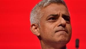 """The mayor, who reiterated his """"London is Open"""" message, attacked the UK government's hostile immigration policies as a barrier to increased investments and students coming from India into London.(AFP file photo)"""