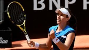 Johanna Konta stuns Kiki Bertens to reach Italian Open final