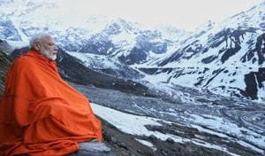 'Serene and spiritual': PM Modi meditates in Badrinath after offering prayers at temple