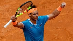 Imperious Nadal fends off Djokovic to land ninth Italian Open title