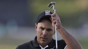 Brooks Koepka in action during PGA Championship.(AP)