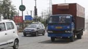85-year-old hit by truck, dies