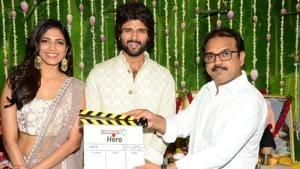Vijay Deverakonda, Malavika Mohanan-starrer Hero launched; See pics