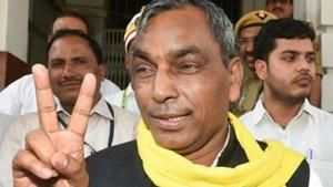 """""""We are a party. And if we do not contest, then what message will we give to our party workers and people?"""" Rajbhar said.(PTI/File Photo)"""