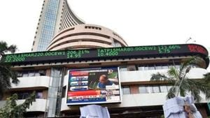 Sensex spirals to record high in early trade on the back of exit polls