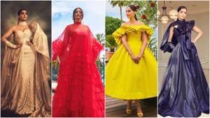 Sonam Kapoor's different looks at Cannes Film Festival.(Instagram)