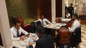 Team India leave for England(BCCI Twitter)