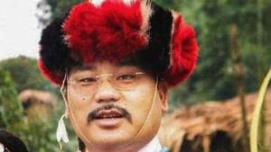 Arunachal Pradesh legislator and NPP candidate Tirong Aboh who was killed in an attack by suspected Naga militants in Tirap district on Tuesday.(PTI PHOTO)