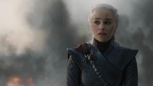 Emilia Clarke watched videos of dictators and powerful leaders including Adolf Hitler for Game of Thrones' finale speech