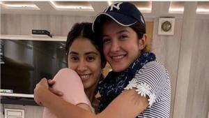 Janhvi Kapoor and Shanaya Kapoor are working on the Gunjan Saxena biopic.(Instagram)